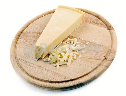 Lock of parmesan cheese