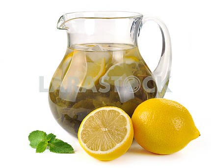Lemon-mint drink