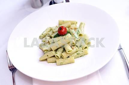 Pasta with bechamel sauce