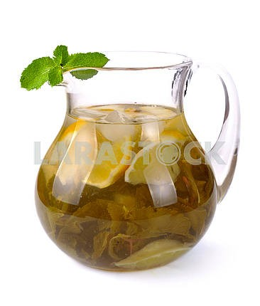 Lemon-mint drink