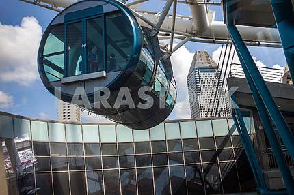 Passenger Singapore ferris wheel module.