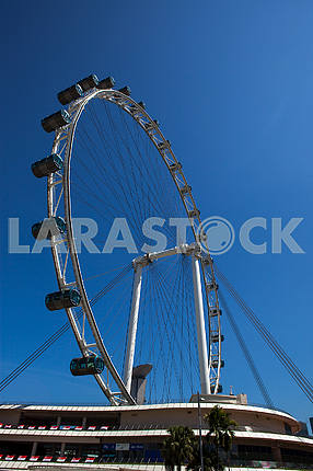 The Singapore Flyer, one of Singapore's newest attractions