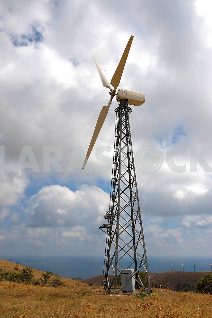 Wind turbines farm — Image 2629