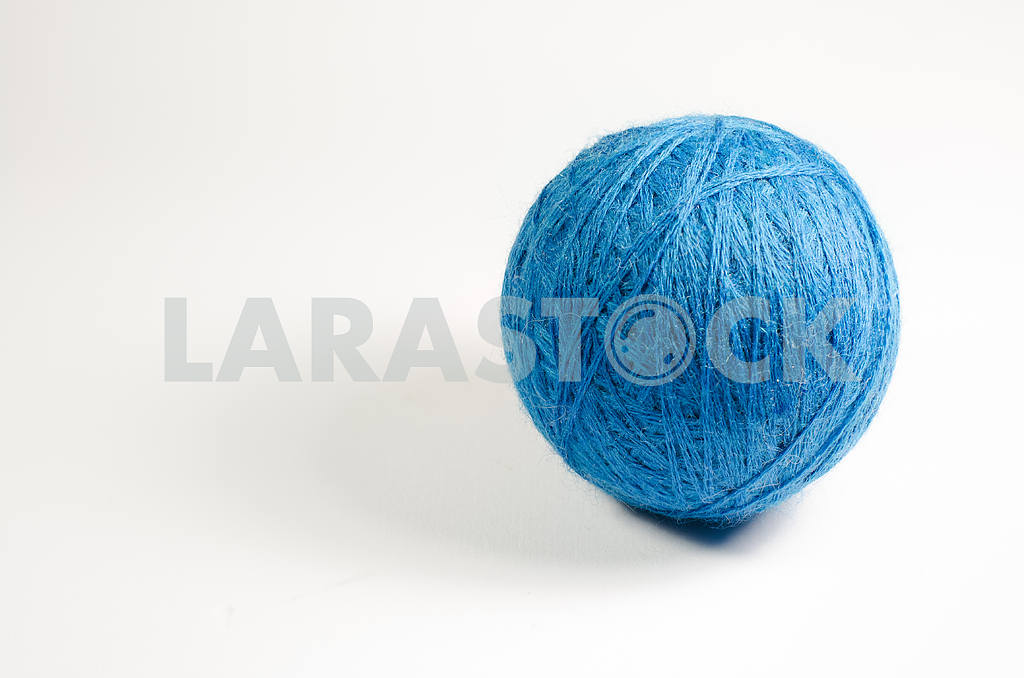 Blue ball of yarn — Image 26566