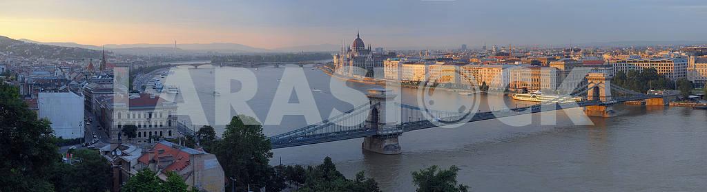 panorama of Budapes