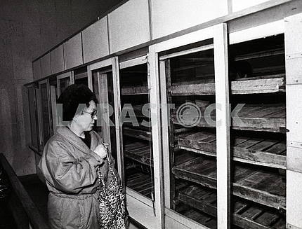 Kiev. Empty counters 80-90s