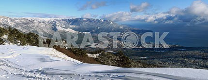 Panorama of Yalta