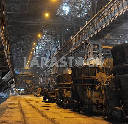 Shop of metallurgical industrial complex
