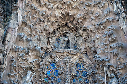Facade of the Nativity Sagrada Familia