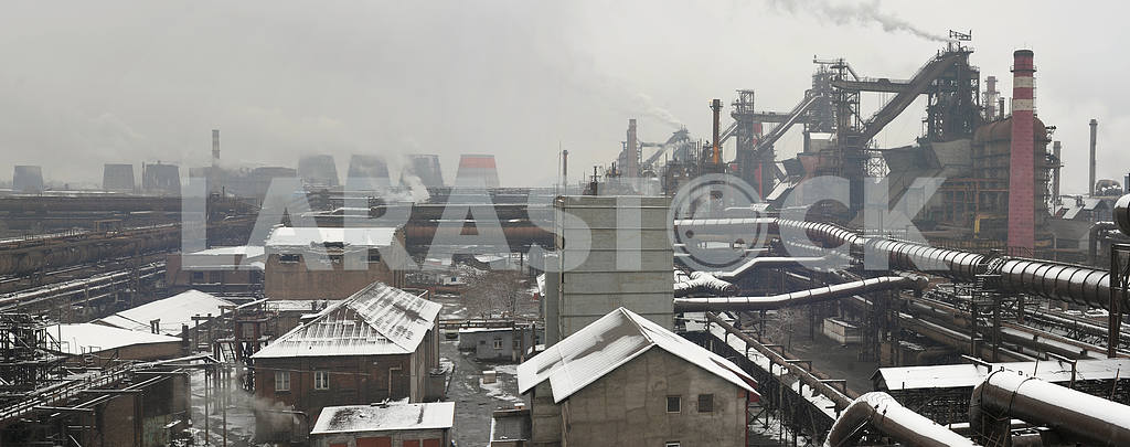 Industrial landscape of metallurgical industrial complex — Image 2752