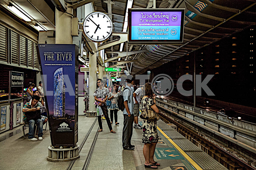 Metro Station in Bangkok — Image 27767