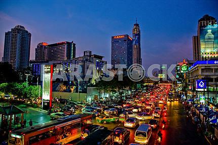 Corks evening in Bangkok