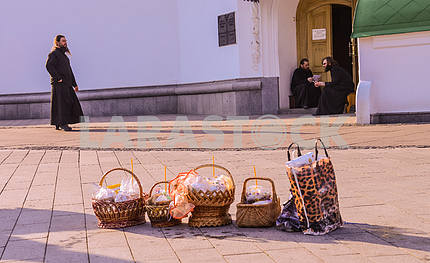 Easter basket in the Pechersk Lavra