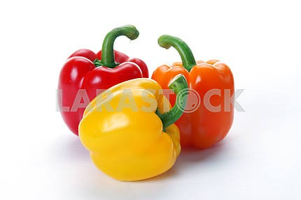 Multi-coloured paprika
