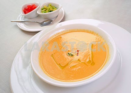 Cream soup from ceps