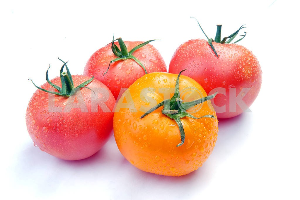 Tomatoes with drops — Image 2960