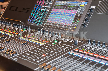 Television mixing console