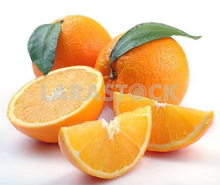 Orange with segments
