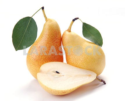 Pears and a half and leave
