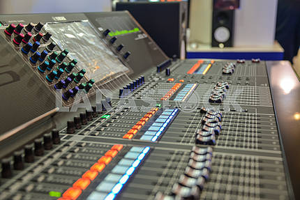 Remote control television studio