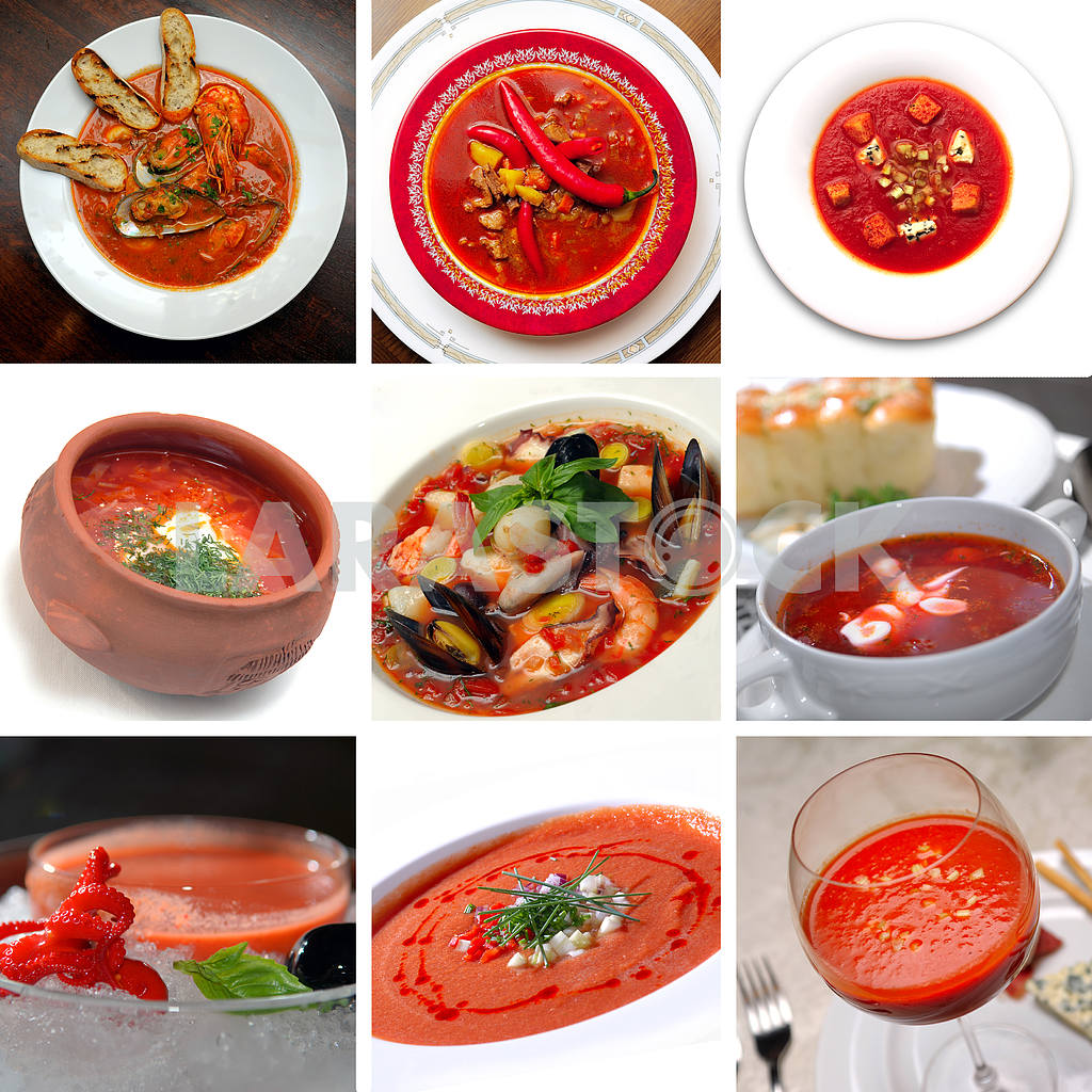 Tomato red soup — Image 3126
