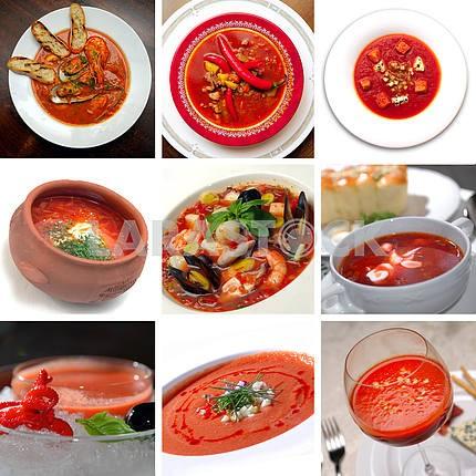 Помидор красный суп