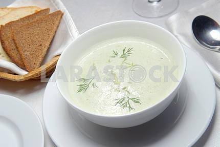 Сливочный суп из спаржи