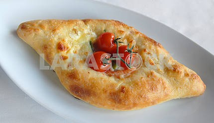 Pie with cheese