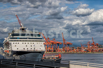 Cruise ship placed in dock