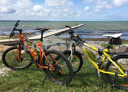 Bike tours on the Estonian islands