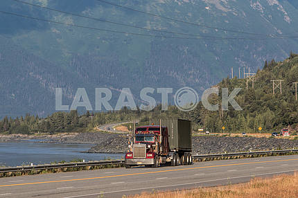 Freight transport by road.