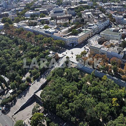 Одесса. Аэрофотосъемка. Потемкинская лестница 27 сентября 2011 года