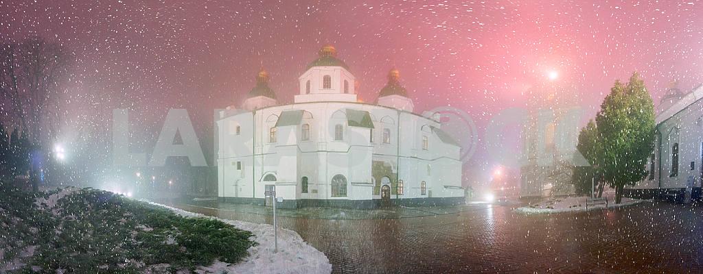 Blizzard and rain enveloped Kiev — Image 3363