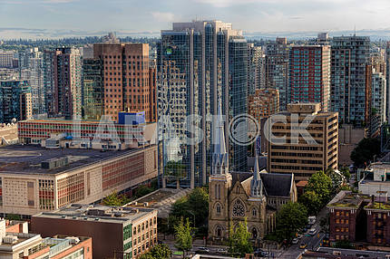 Beautiful view of Vancouver