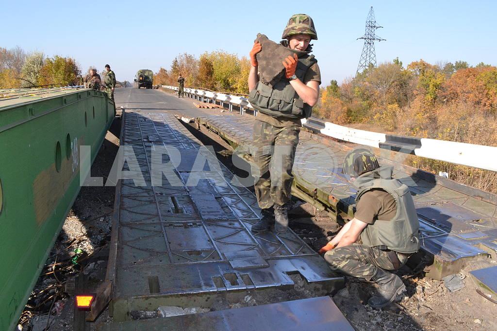 Restoration of the bridge in the ATO zone — Image 33939