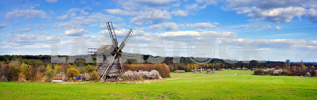 Windmills in the spring — Image 3413
