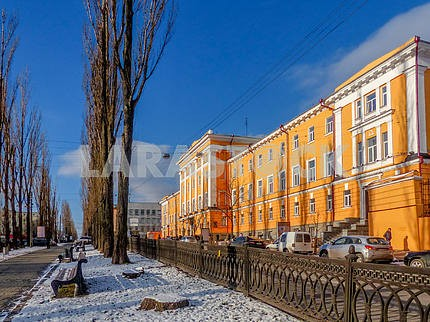 Kiev Building Humanities Building University