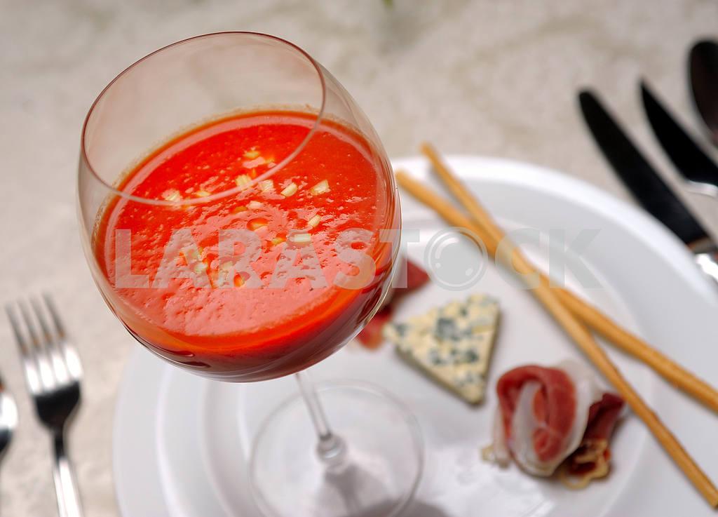 Tomato soup gazpacho — Image 3493