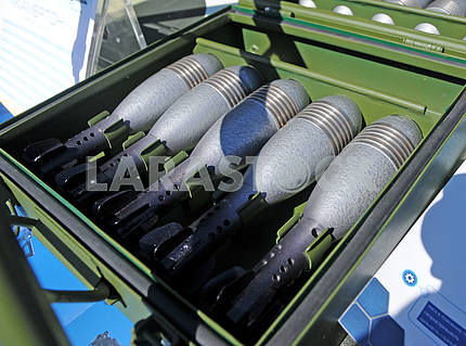 "Mina for 60-mm mortar ""tuning fork"""