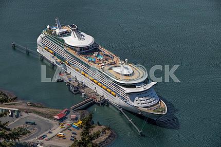 The cruise ship