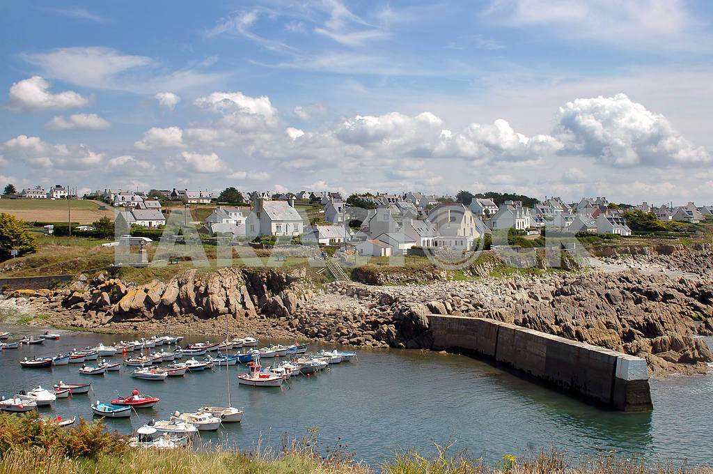 Fishing Village in northern France — Image 3628