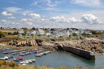 Fishing Village in northern France