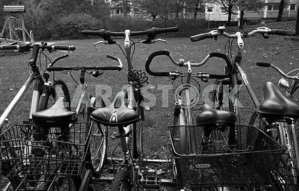 Велостоянка в Мюнхене