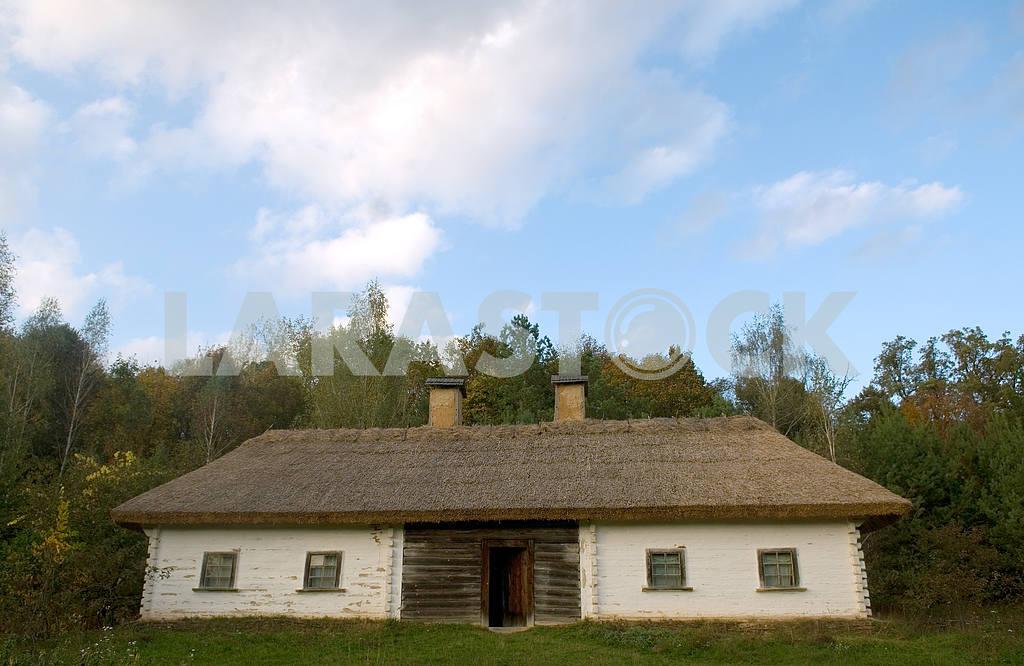 Hut in the Ukrainian village — Image 3648