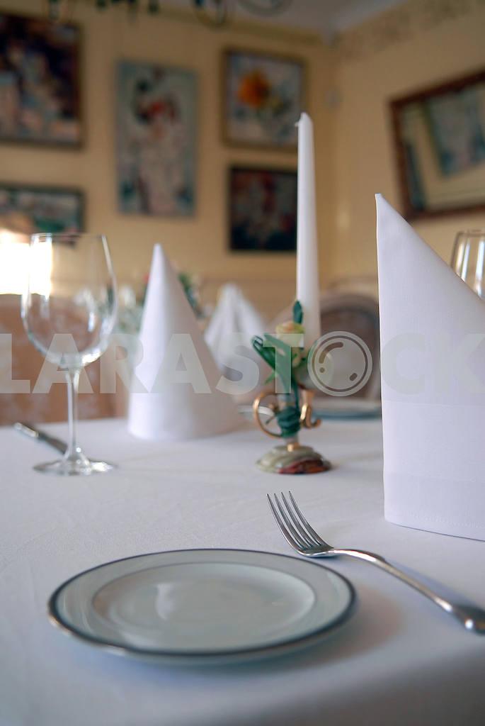 Tablewares at restaurant — Image 3655