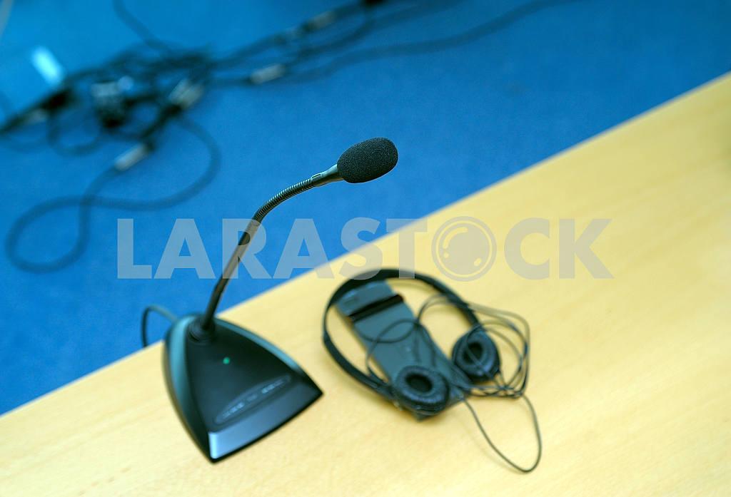 Microphone and translator — Image 3770