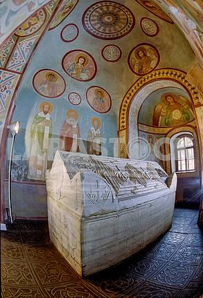 sarcophagus of Yaroslav the Wise