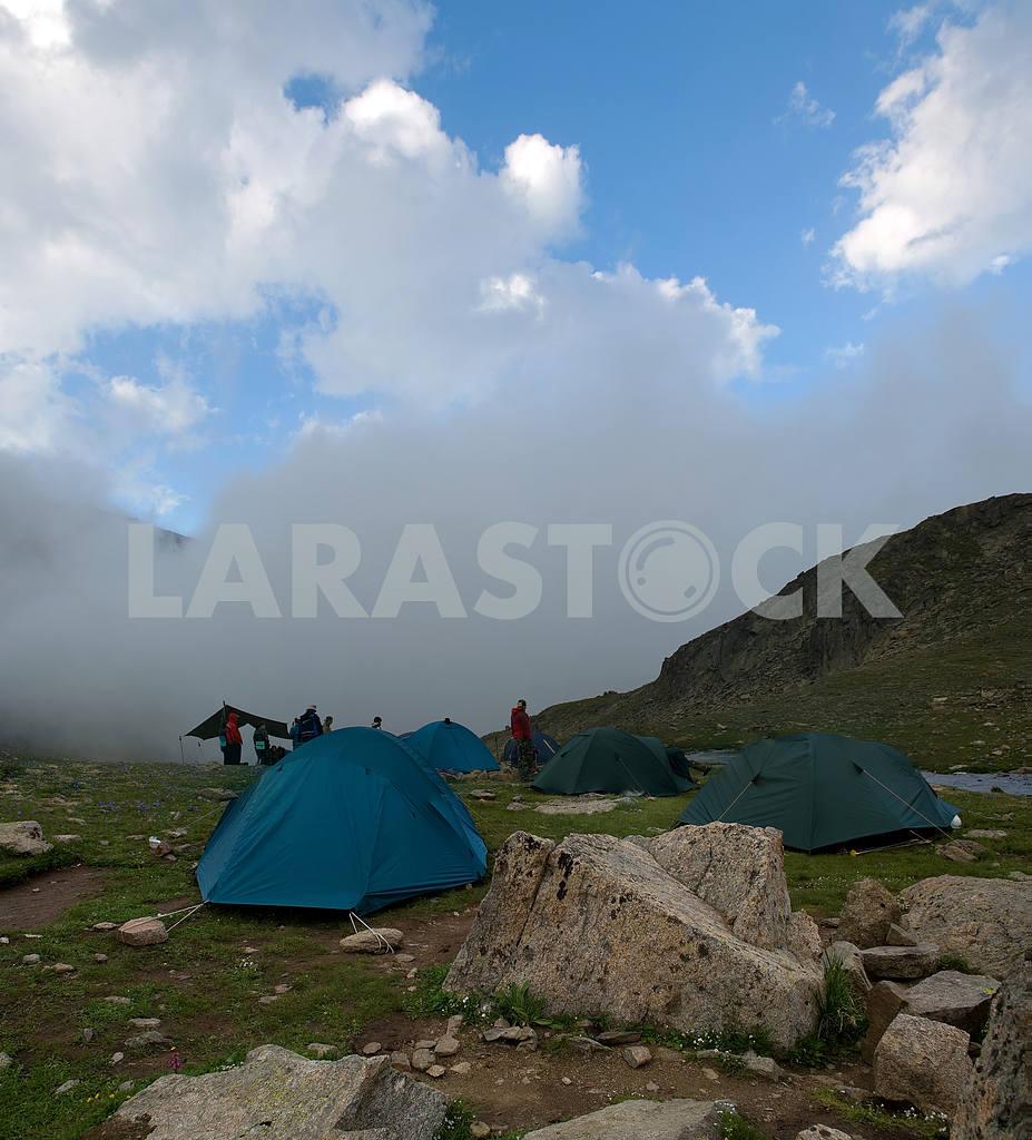 Лагерь в горах Кавказа — Изображение 3788