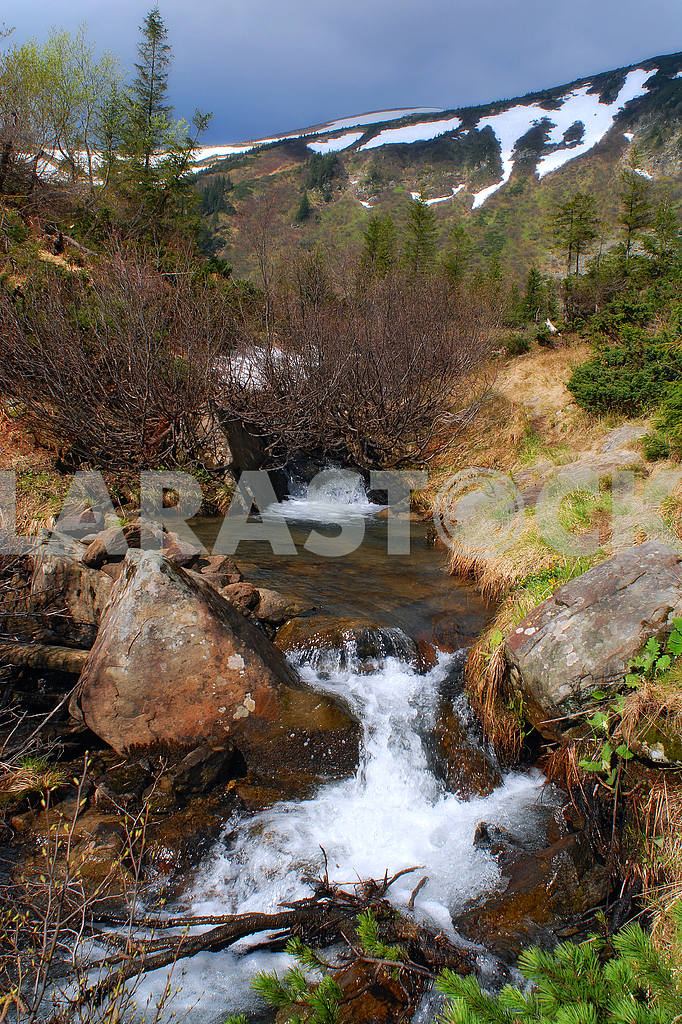 The mountain river — Image 3790