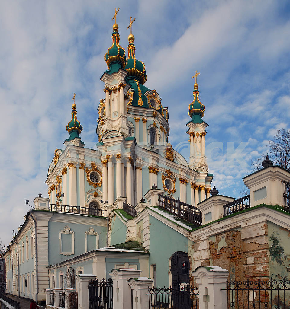 Andreevsky church in Kiev — Image 3840